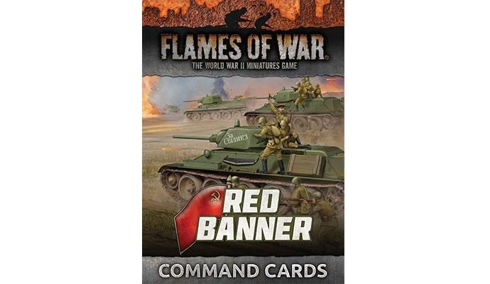 Flames of War Flames of War Command Cards: Red Banner