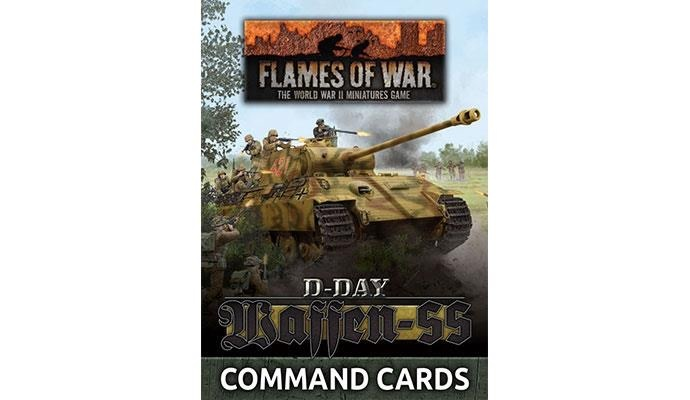 Flames of War Flames of War Command Cards: Waffen-SS