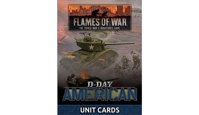 Flames of War Flames of War Unit Cards: D-Day, American