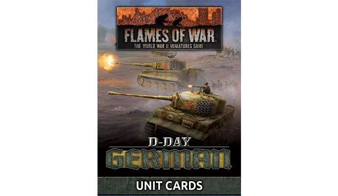 Flames of War Flames of War Unit Cards: D-Day, German