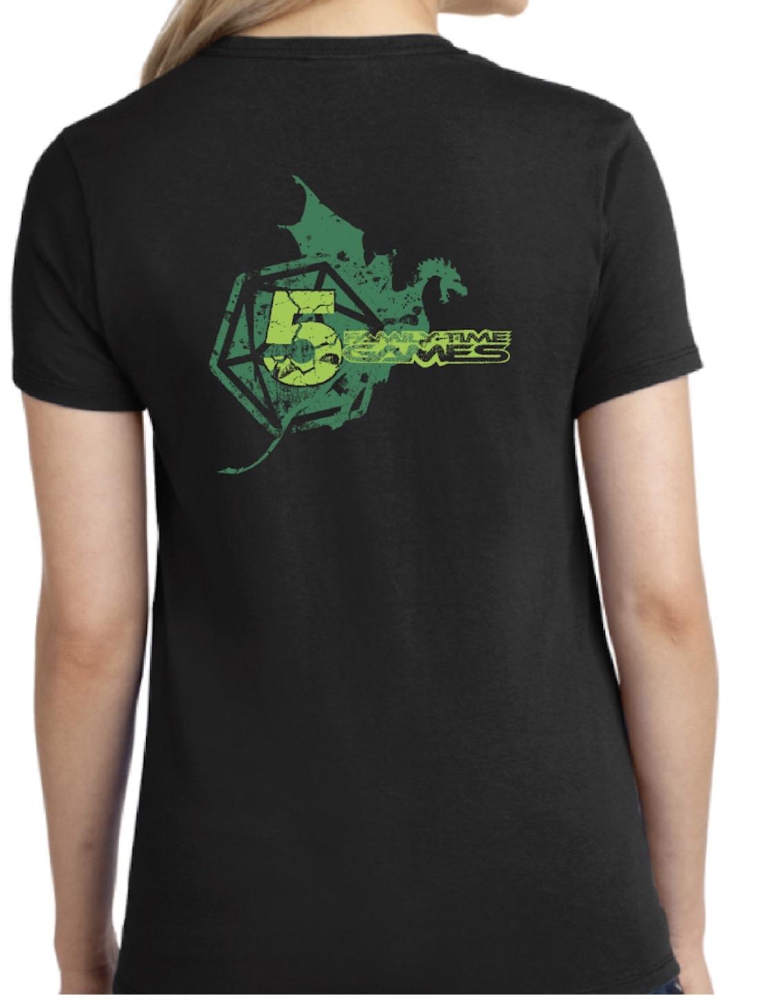 Team image 5 year Anniversary short sleeves shirt woman (size XL)