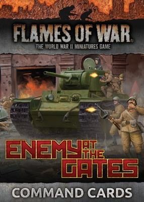 Flames of War Flames of War Command Cards: Enemy at the Gates