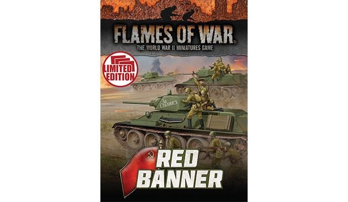 Flames of War Flames of War Unit Cards: Red Banner
