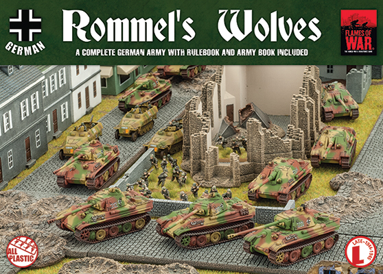 Flames of War Flames of War: German- Rommel's Wolves (late)