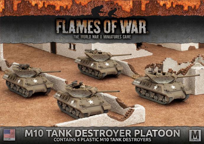 Flames of War Flames of War: USA- M10 Tank Destroyer Platoon (mid)