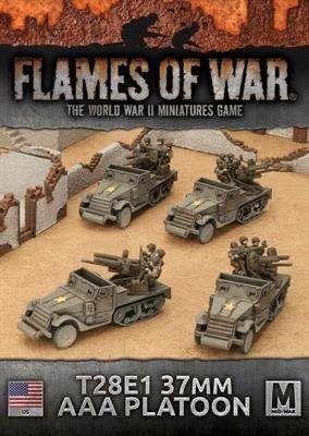 Flames of War Flames of War: USA- T28E1 37mm  AAA Platoon (mid)