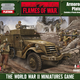 Flames of War Flames of War: USA- Armored Rifle Platoon (mid-late)