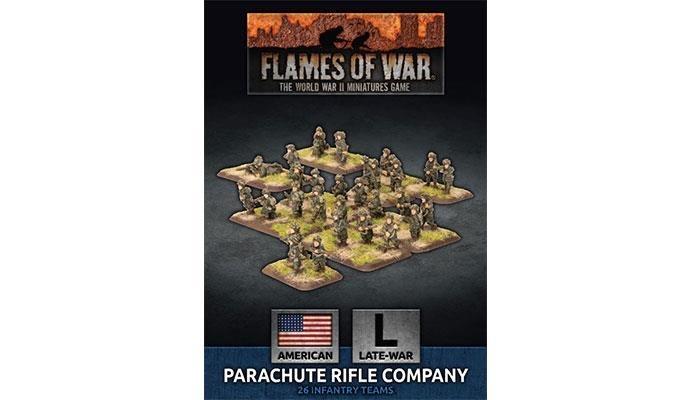 Flames of War Flames of War: USA- Parachute Rifle Company (late)