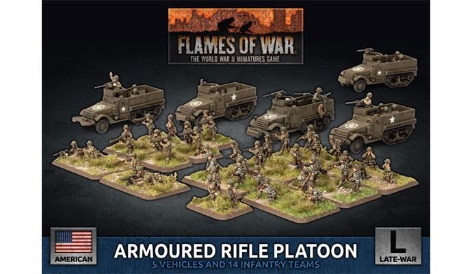 Flames of War Flames of War: USA- Armoured Rifle Platoon (late)