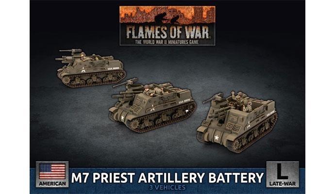 Flames of War Flames of War: USA- M7 Priest Artillery Battery (late)