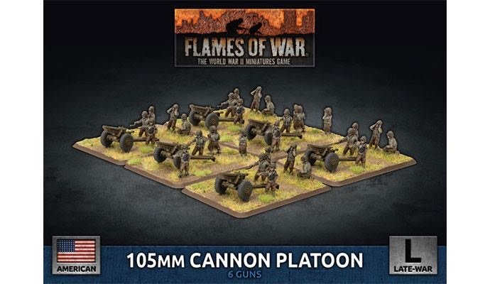 Flames of War Flames of War: USA- 105mm Cannon Platoon (late)