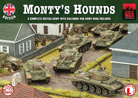 Flames of War Flames of War: British- Monty's Hounds (late)