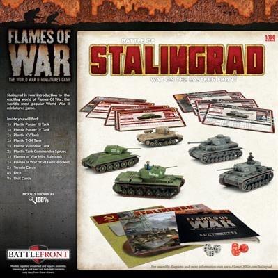 Flames of War Flames of War: Battle for Stalingrad , 2 player set