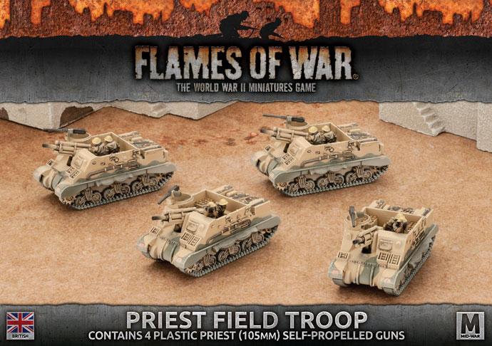 Flames of War Flames of War: British- Priest Field Troop (mid)