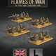 Flames of War Flames of War: British- 6 Pdr anti-tank Platoon (late)