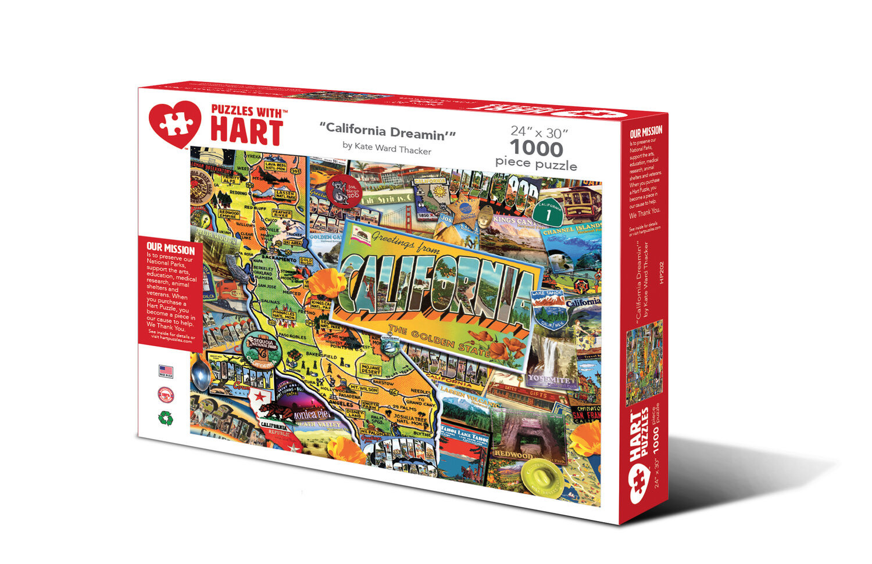 Hart puzzle Hart Puzzle: California Dreamin (1000pc)