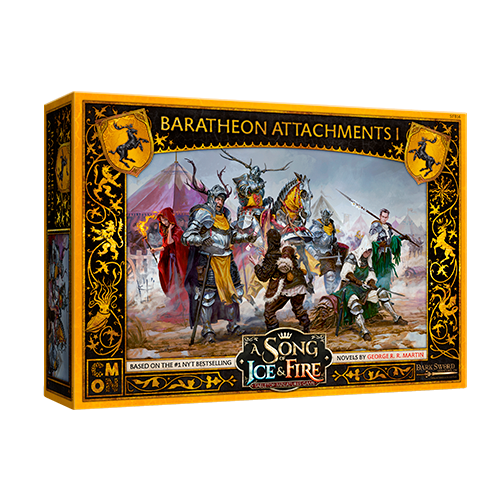 CMON Song of Ice & Fire: Baratheon Attachments I