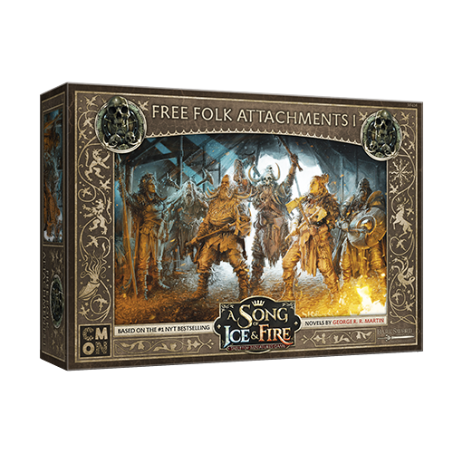 CMON Song of Ice & Fire: Free Folk Attachments I