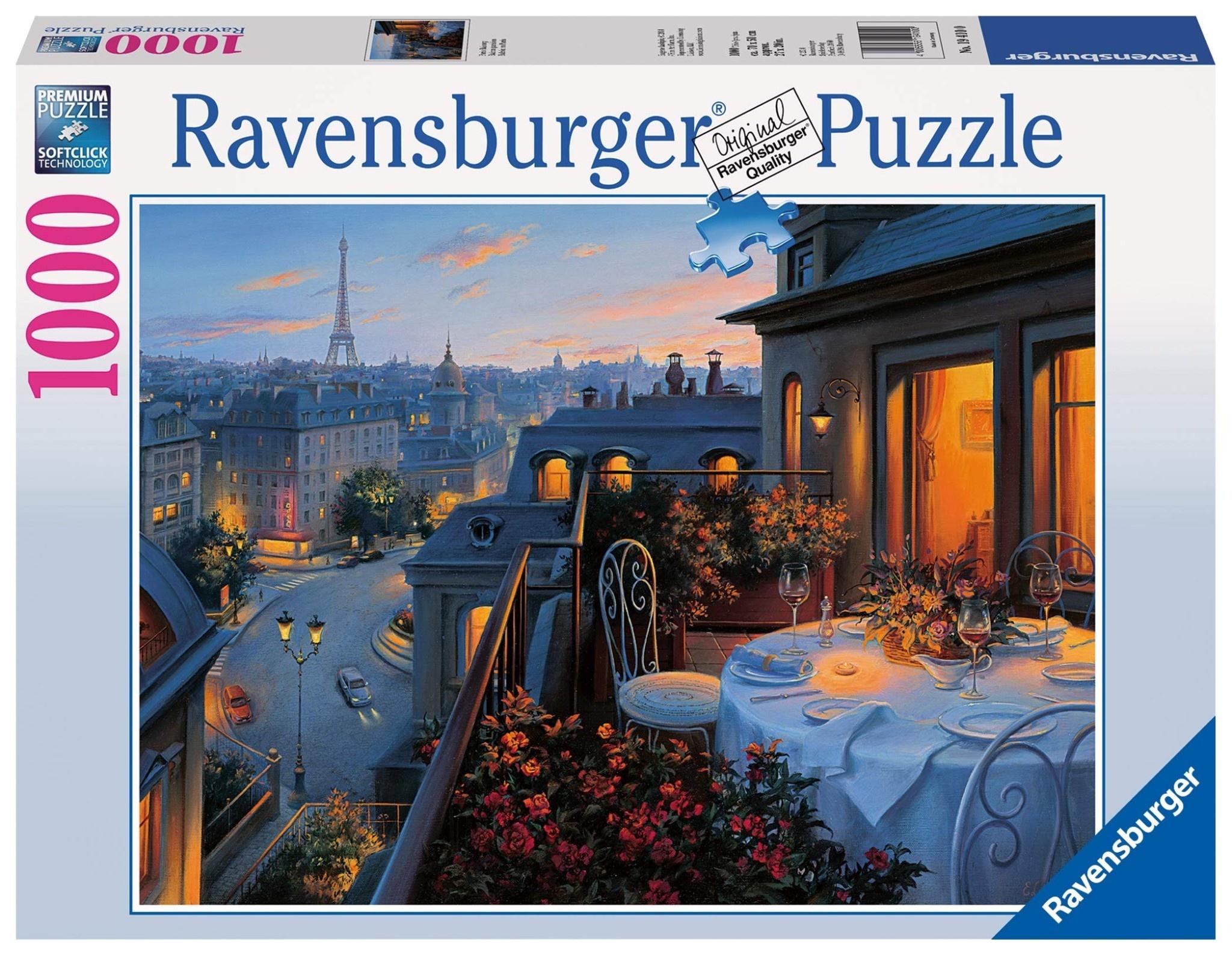 Ravensburger Ravensburger Puzzle: Paris Balcony  (1000pc)