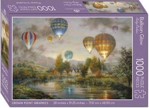 Crown Point Graphics Crown Point Puzzle: Balloon Glow (1000pc)