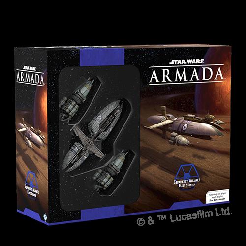 Fantasy Flight Star Wars Armada: Seperatist Alliance Fleet Starter