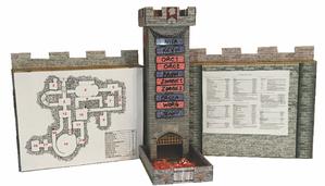 Role 4 iniative Role 4 Iniative Dice Tower: Castle & Dm Screen