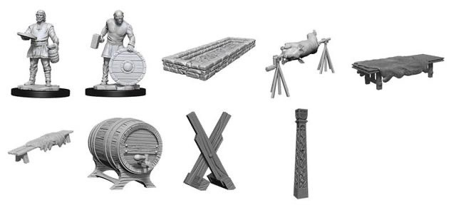 Wizkids D&D Deep Cuts Miniature: Vikings Box