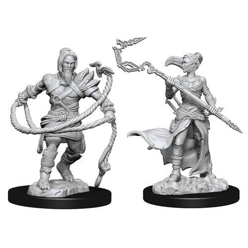 Wizkids D&D Magic Miniature: Stoneforge Mystic & Kor Hookmaster