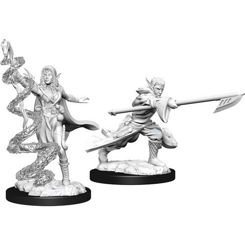 Wizkids D&D Magic Miniatures: Jorga Warcaller & Treespeaker