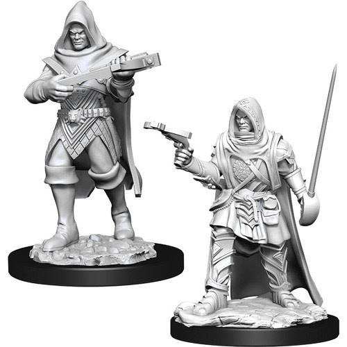Wizkids Pathfinder Miniature: Male human Rogue