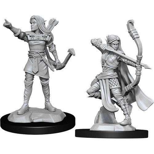 Wizkids D&D Nolzurs Minitaure: Female Elf Ranger