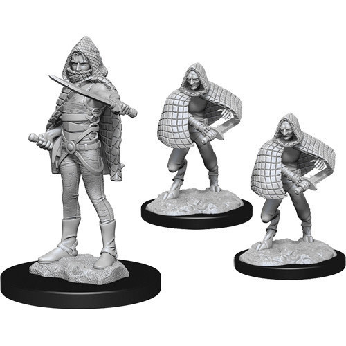 Wizkids D&D nolzurs Miniature: Darkling Eldar & Darklings