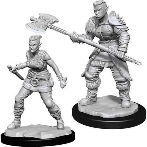 Wizkids D&D Nolzurs Miniature: Female Orc Barbarian
