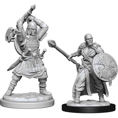 Wizkids D&D nolzurs miniature: Male Human Barbarian