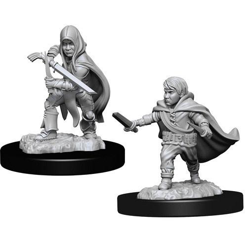 Wizkids D&D Nolzurs Miniature: Male Halfling Rogue