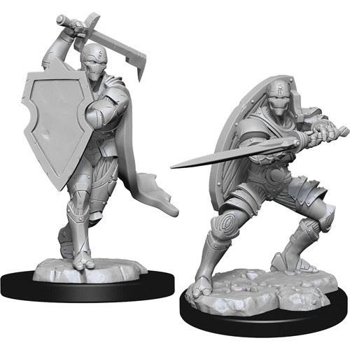 Wizkids D&D Nolzurs Miniature: Male Warforged Fighter
