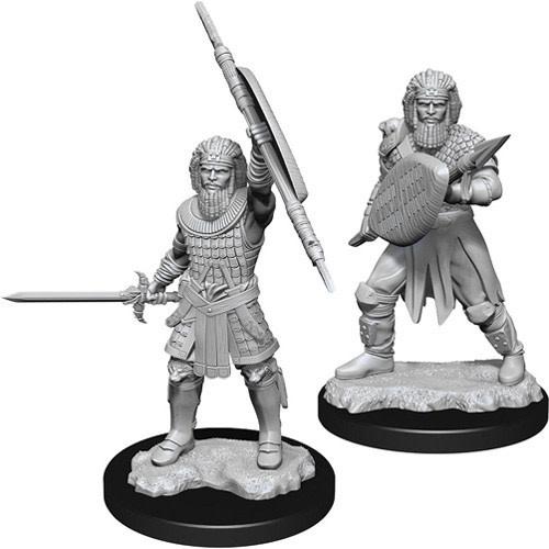 Wizkids D&D Nolzurs Miniature: Male Human Fighter