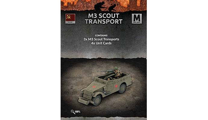 Flames of War Flames of War: Soviet- M3 Scout Transport (mid)