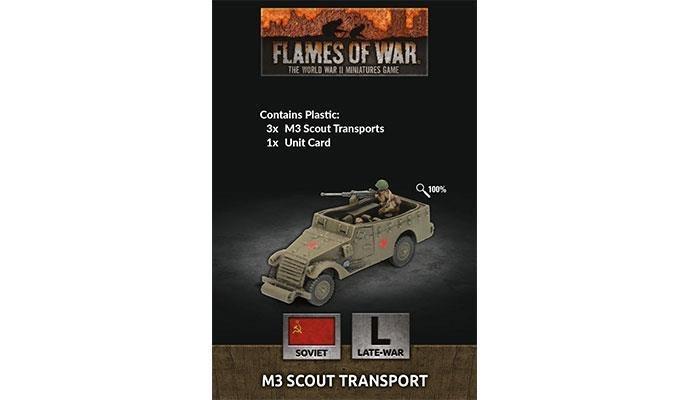 Flames of War Flames of War: Soviet- M3 Scout Transport (late)