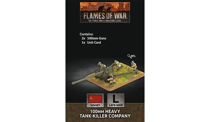 Flames of War Flames of War: Soviet- 100mm HJeavy Tank- Killer Company (late)