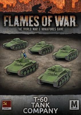 Flames of War Flames of War: Soviet- T-60 Tank Company (mid)
