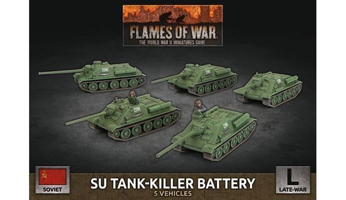 Flames of War Flames of War: Soviet- SU Tank-Killer Battery (late)