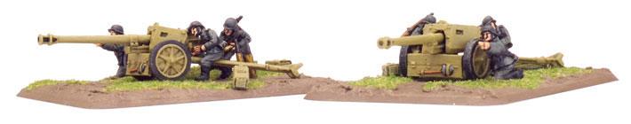 Flames of War Flames of War: German- 7.5 cm PaK40 gun (mid)