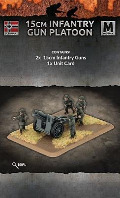 Flames of War Flames of War: German- 15cm Infantry Gun Platoon  (mid)