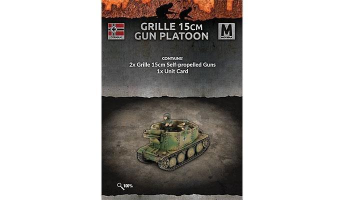 Flames of War Flames of War: German- Grille 15cm Gun Platoon (mid)