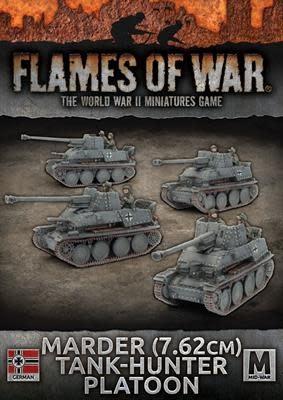 Flames of War Flames of War: German- Marder (7.62cm) Tank-Hunter Platoon (mid)