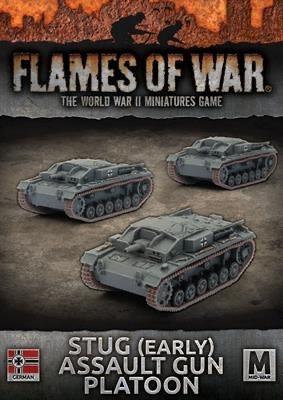 Flames of War Flames of War: German- Stug (early) Assault Gun Platoon (mid)