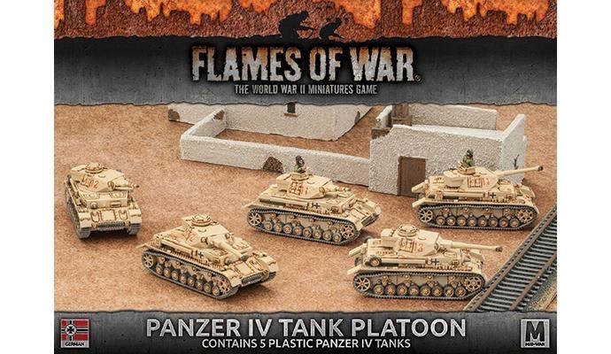 Flames of War Flames of War: German- Panzer IV Tank Platoon (mid)