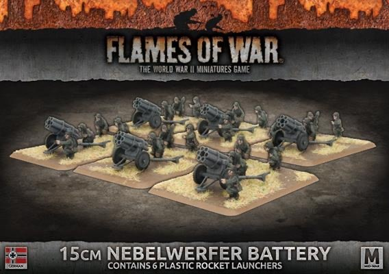 Flames of War Flames of War: German- 15cm Nebelwerfer Battery (mid)