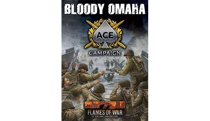 Flames of War Flames of War: Bloody Omaha Ace Champaign Cards